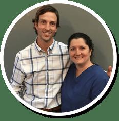 Chiropractor Eden Prairie MN John Borsheim with Lynn